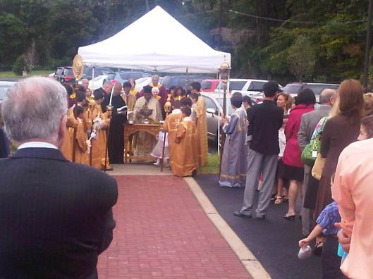 Blessing of new Parking lot (1)