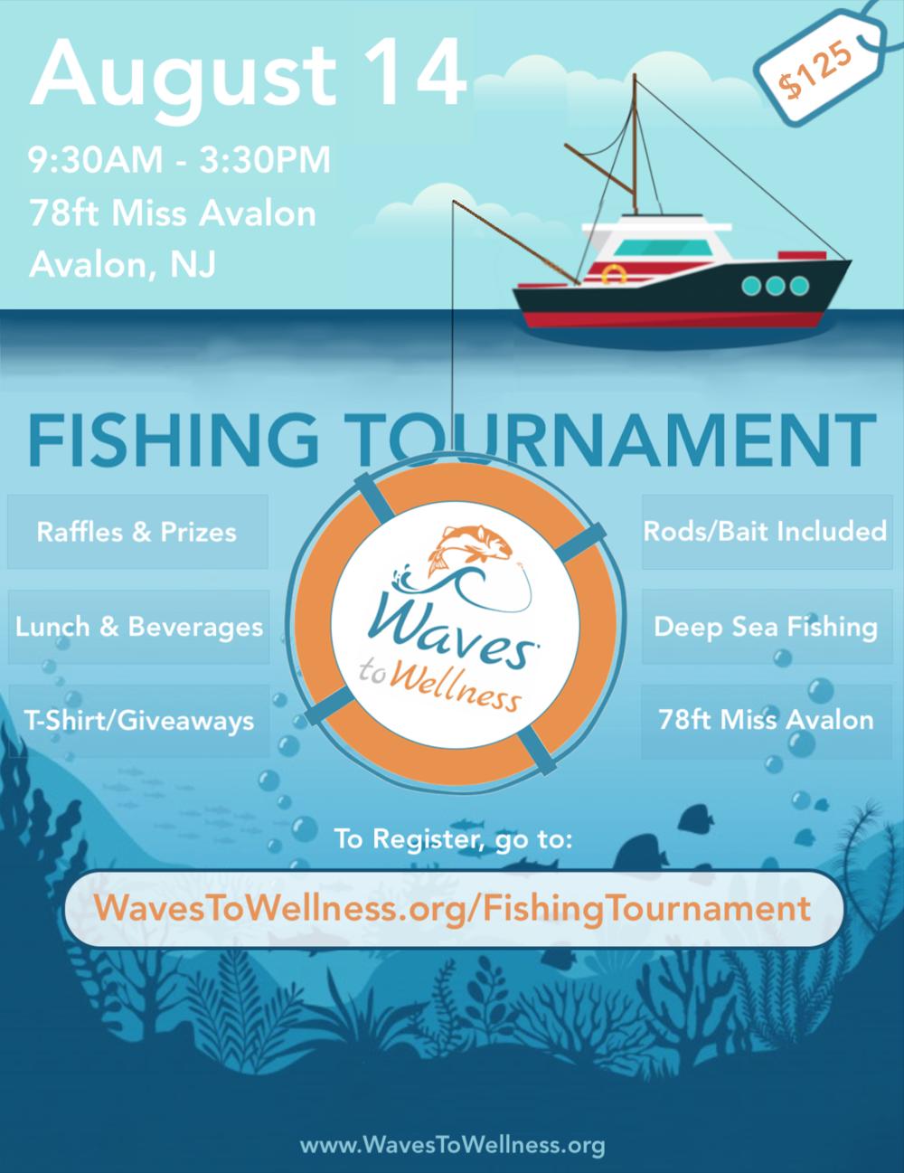 Waves to Wellness 2nd Fishing Tournament