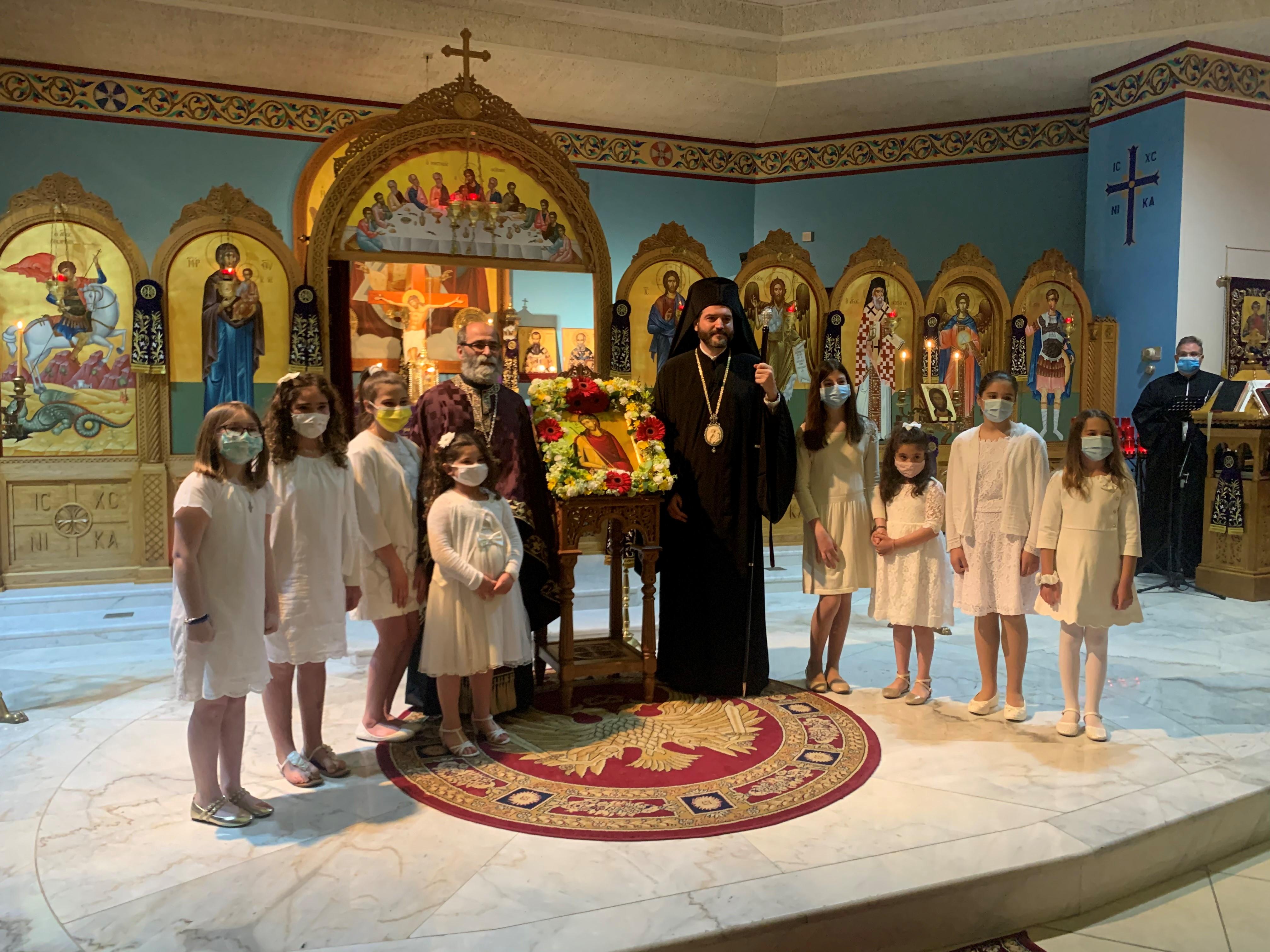 Bishop Apostolos Visit 2021 (2)