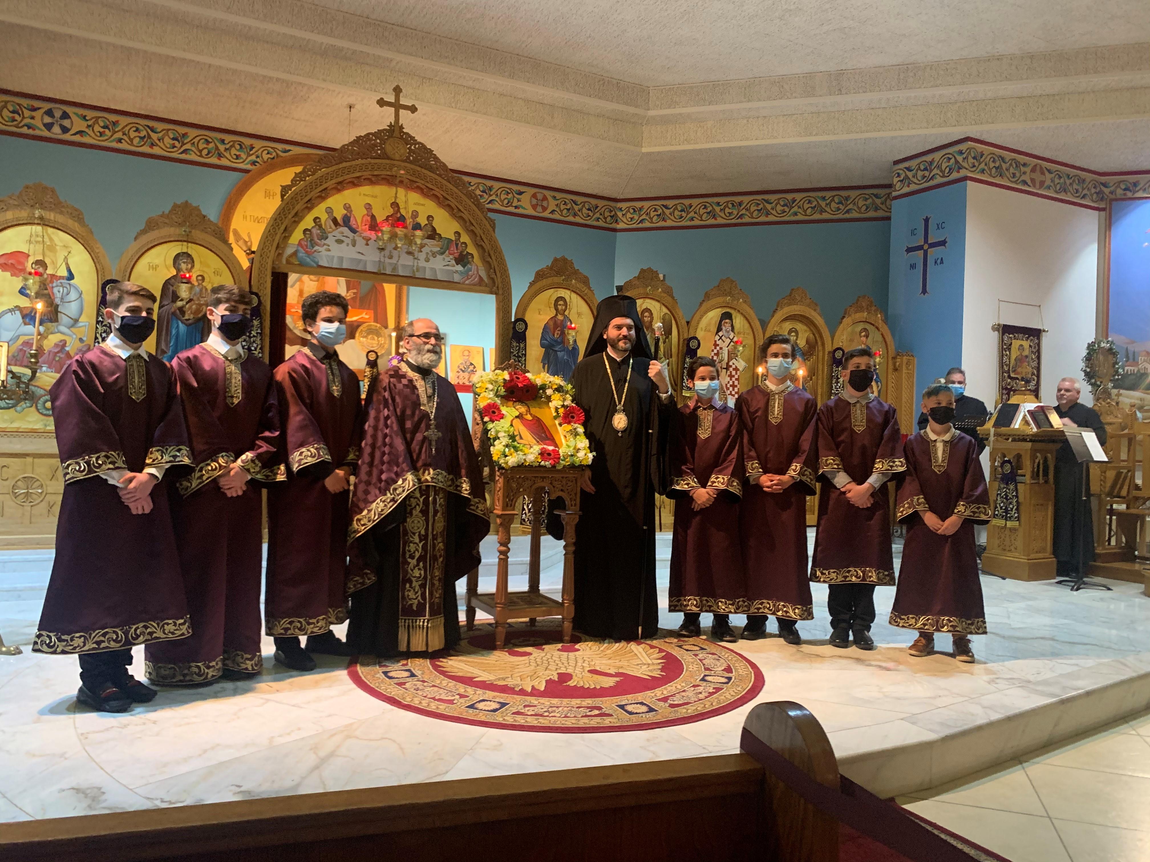 Bishop Apostotlos Visit 2021